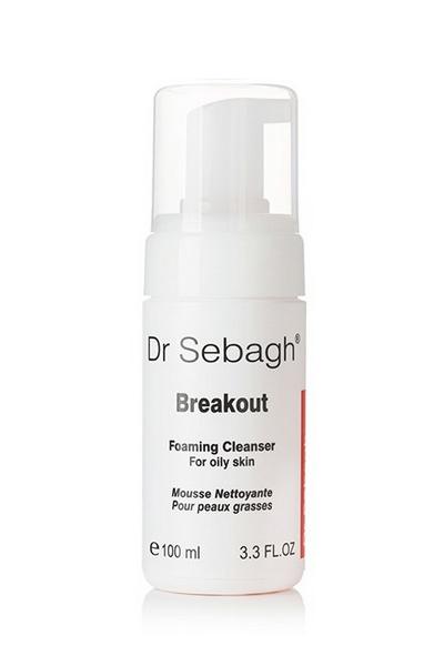 Dr Sebagh Breakout Foaming Cleanser – Очищающая пенка для жирной кожи и кожи с акне