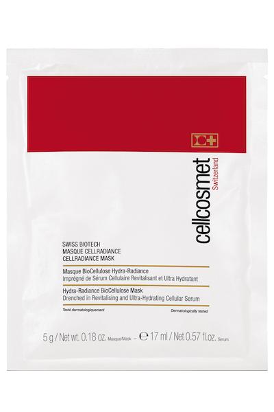 """Cellcosmet Swiss BioTech CellRadiance Mask – Клеточная биоцеллюлозная маска-патч """"Сияние"""""""