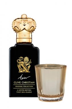 Clive Christian X Amber Gift Set Набор духи и свеча