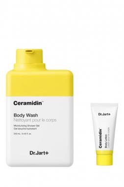 Dr. Jart+ Набор с гелем для душа и лосьоном для тела