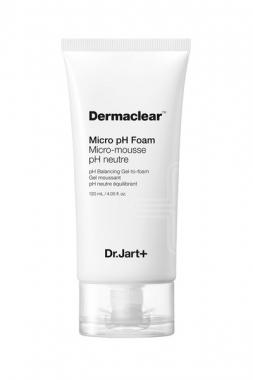 Dr. Jart+ Dermaclear Micro pH Foam – Гель-пенка для умывания глубокого очищения pH 5.5