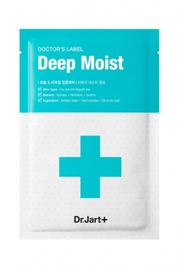 Dr. Jart+ Doctor's Label Deep Moist – Маска для лица Рецепт увлажнения