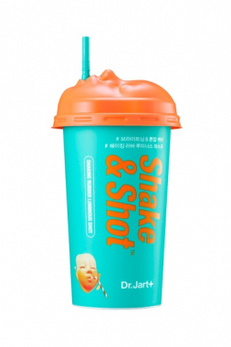 Dr. Jart+ Shaking Rubber Luminous Shot – Маска «Альгинатный коктейль» Сияние & Детокс