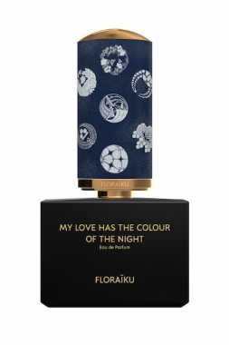 Floraiku My Love has the Colour of the Night