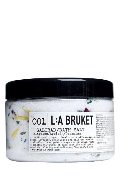 L:a Bruket 001 Соль для ванн Календула/Апельсин/Герань