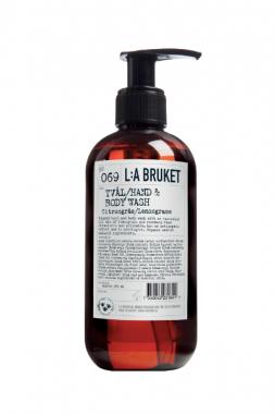 L:a Bruket 069 Жидкое мыло для тела и рук Лемонграсс