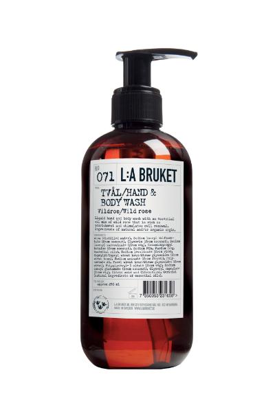 L:a Bruket 071 Жидкое мыло для тела и рук Дикая роза