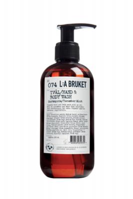L:a Bruket 074 Жидкое мыло для тела и рук Огурец/Мята