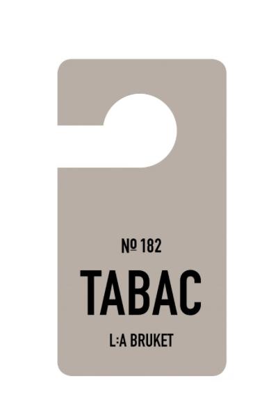L:a Bruket 182 Ароматизированный хенгер Табак