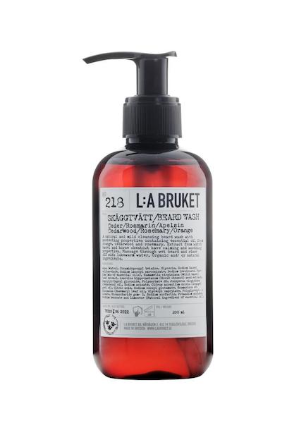 L:a Bruket 218 Шампунь для бороды Кедр/Розмарин/Апельсин